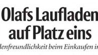 Olafs Laufladen &#8211; Partner des Volksbanken-Nightcup &#8211; ist als besonders kunden- und servicefreundlich ausgezeichnet worden, berichtete die NEUE WESTFLISCHE in...